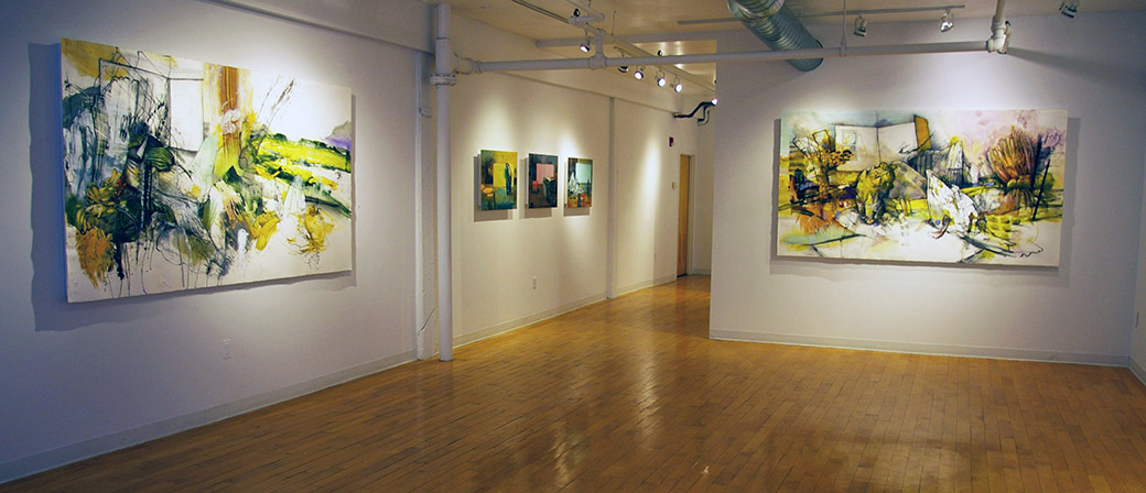 Installation View, Kingston Gallery, 2014